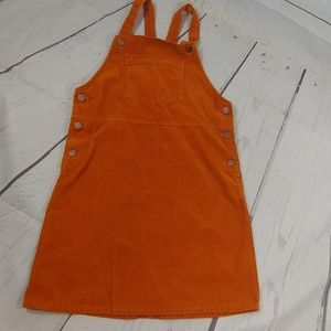 Old Navy corduroy over all dress size L